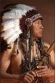 antelope canyon, navajo, native, portrait, arizona