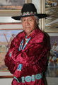 jimmy, abeita, navao, artist, painter, window, rock, arizona