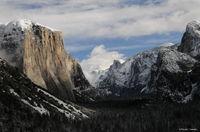 yosemite, valley, view, tunnel, color, landscape, california