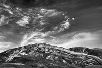 Rainbow Basin. Barstow, California, desert, fossils, ron, ronald, saunders, photography, best of, landscape, scenic, black, white,  ronald j saunders
