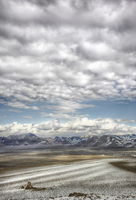 Nevada, Ronald, Saunders, Ron, color, tufa, clouds, mountains, nightingale, lake, dry,  Winnemucca, desert, photography