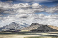ron, ronald, saunders, landscape, fine art, keeble, shuchat,exhibition, Nevada, selenite, mountains, desert, photography