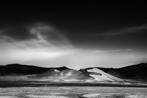 Nevada, sand, dunes, black, white, desert, ron, Ronald, saunders, landscape, best photo, flat, fourmile, eightmile, falon, desert