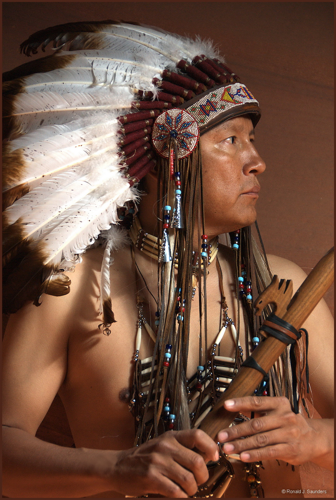 antelope canyon, navajo, native, portrait, arizona, photo