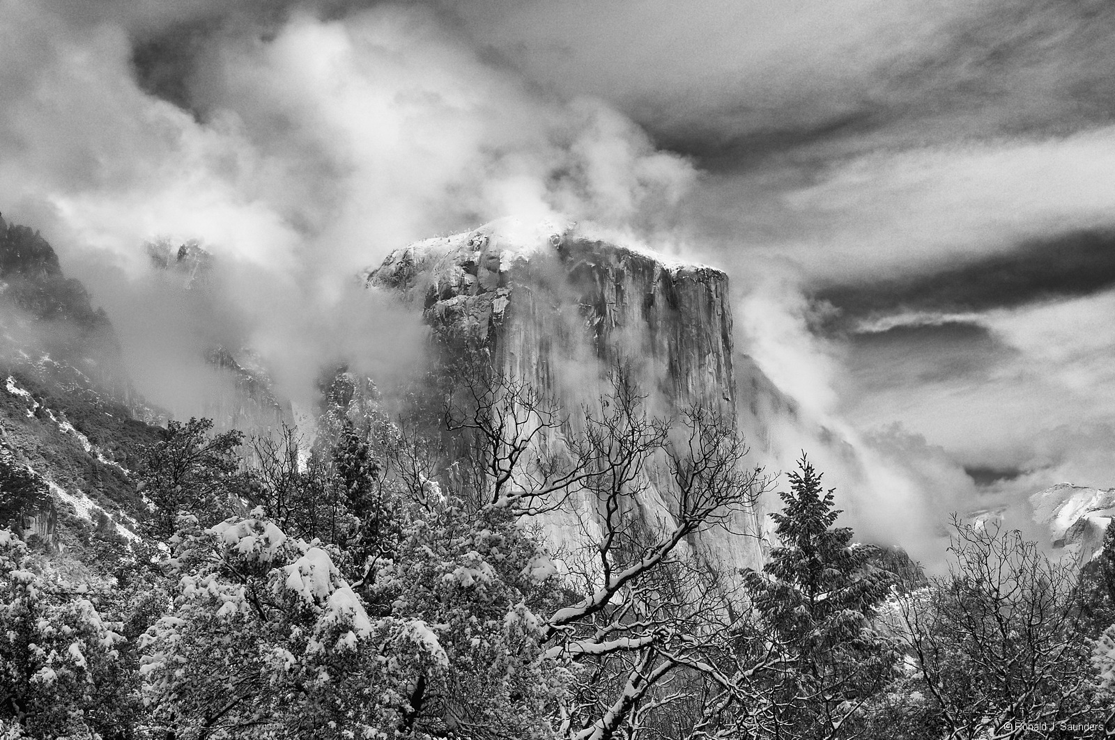 Yet another magnificent view of El Capitan.