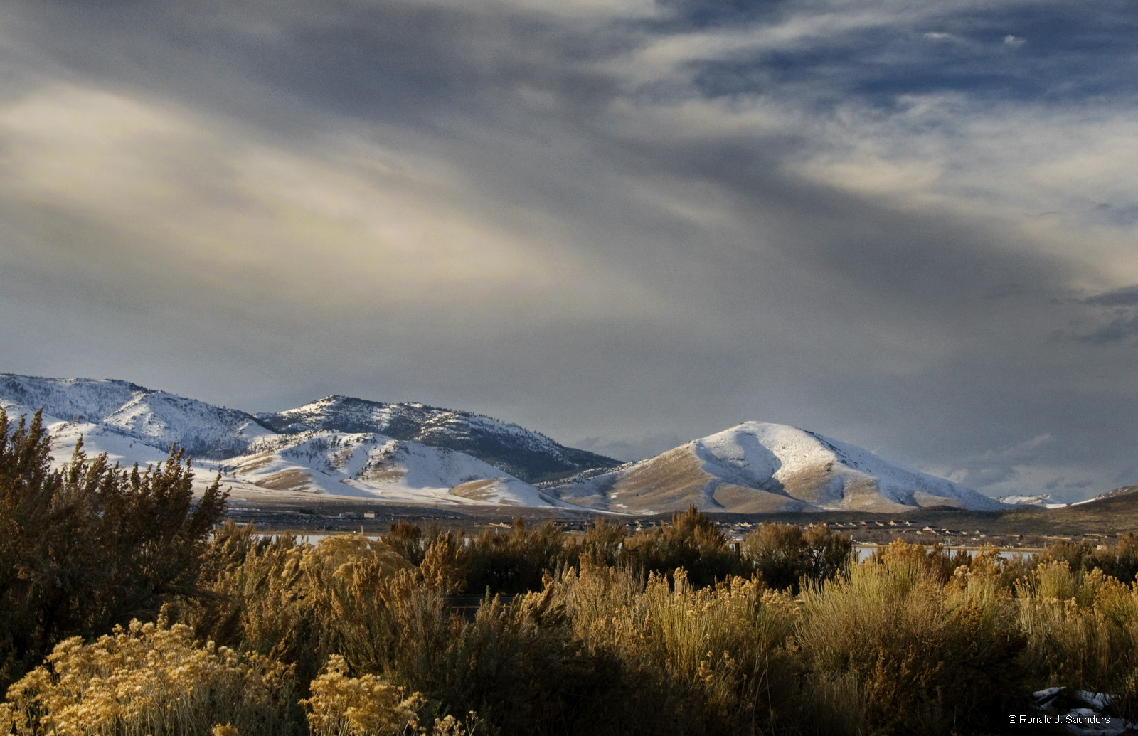 cold springs, nevada, desert, nevada, landscape, christmas, snow, photo
