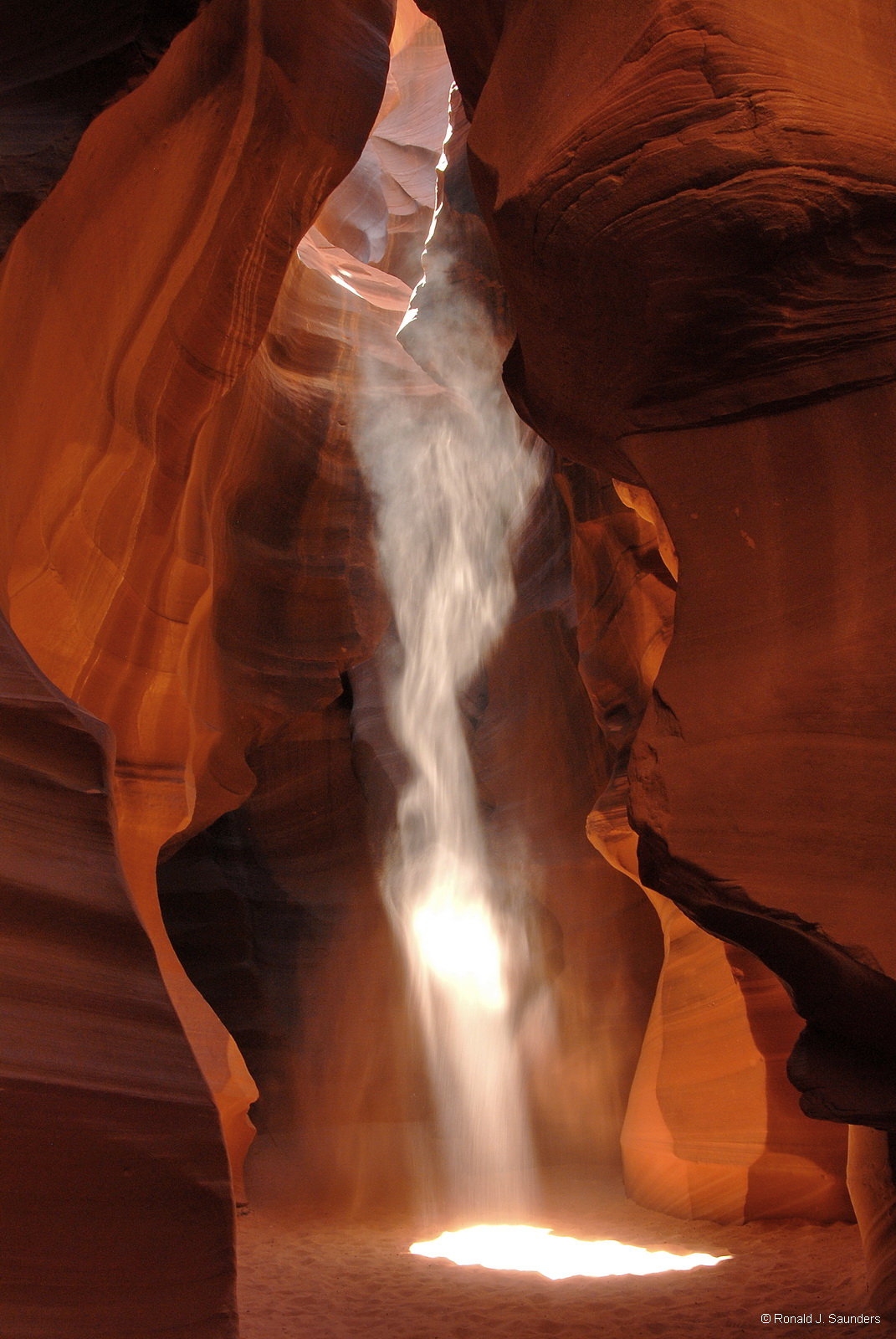 page, arizona, slot canyone, antelope, canyon, beam, light, photo
