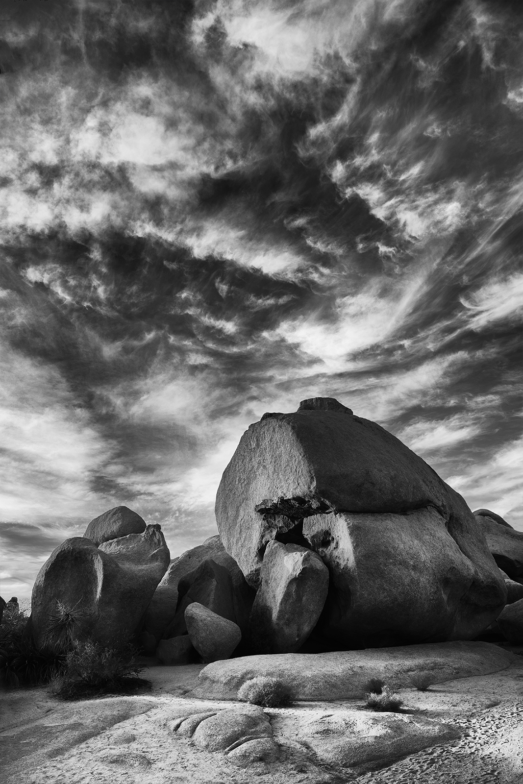 Hidden Valley is a campground in Joshua Tree National Park.  This location attracts a lot of climbers and hikers.   The lure...