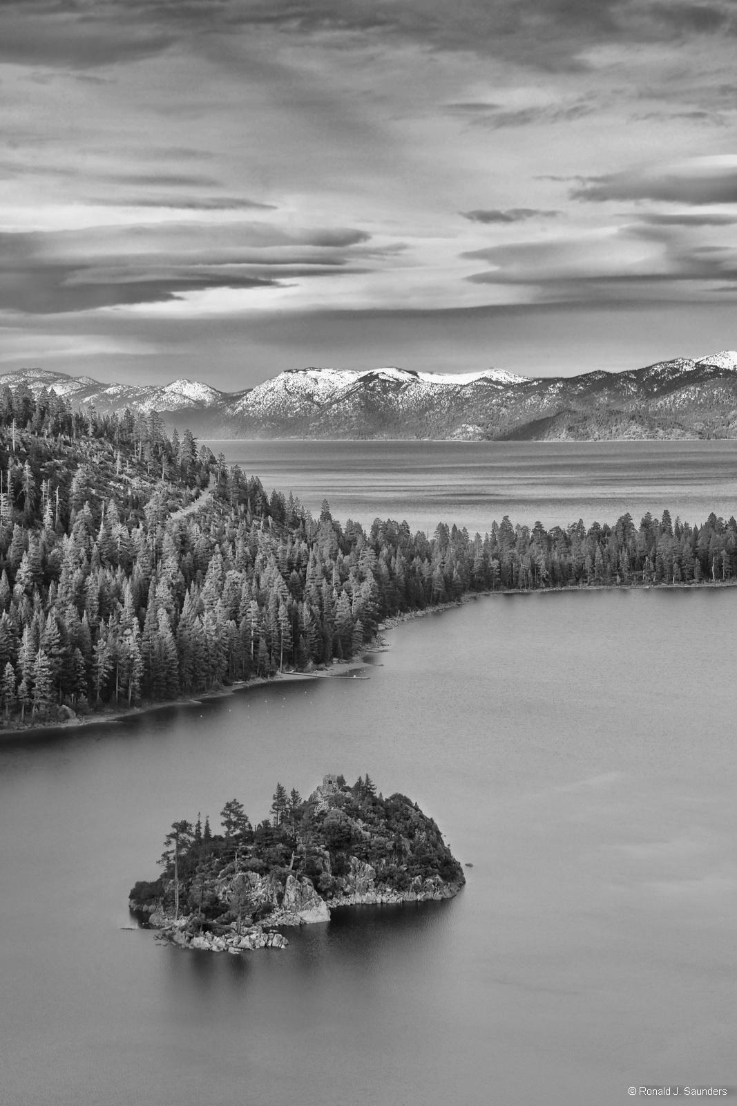 Tahoe, Lake, ron, Saunders, water, Ronald, saunders, black, white, ron, saunders, ronald, ronald j saunders, landscape, photography, , photo