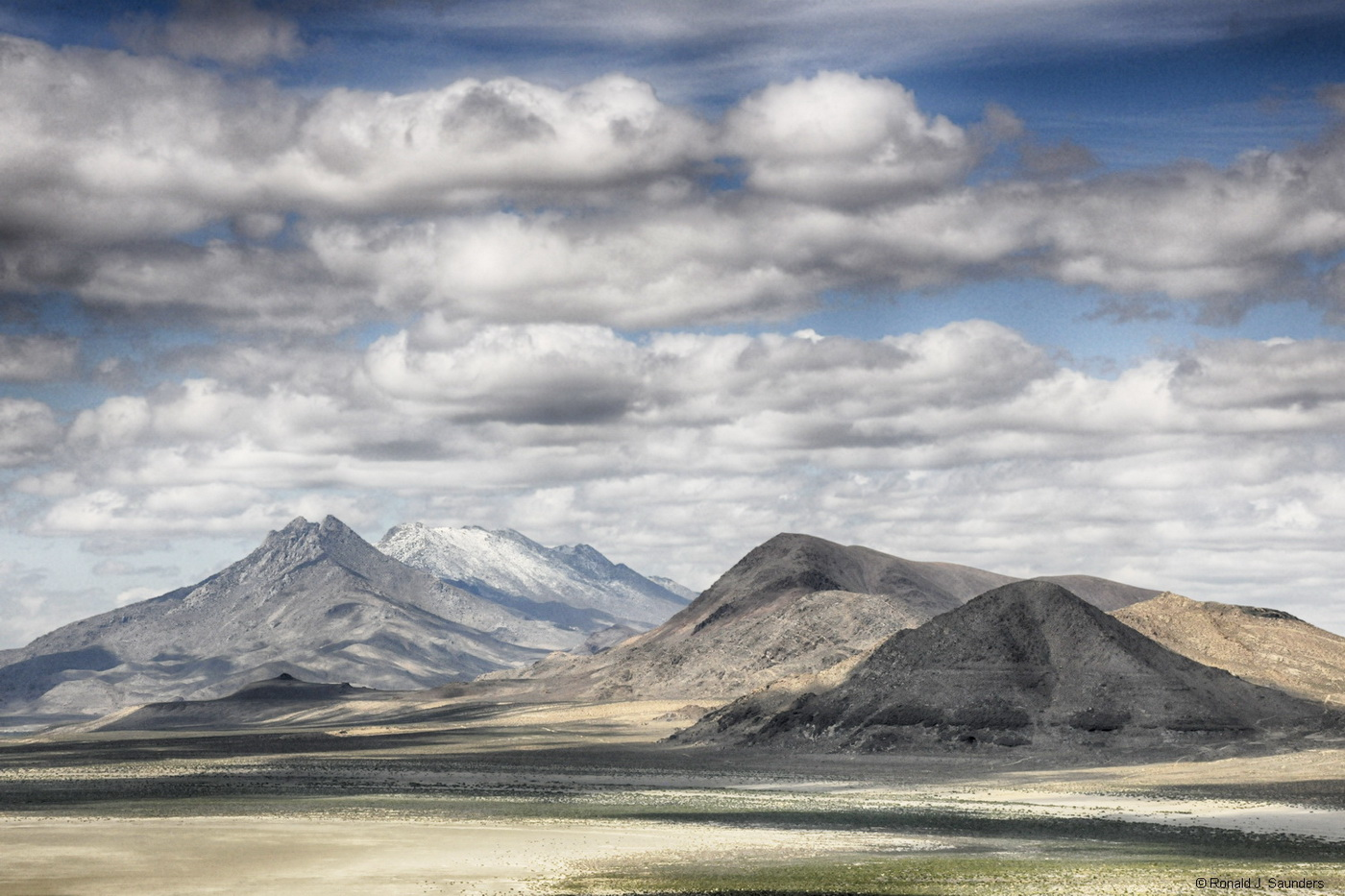 ron, ronald, saunders, landscape, fine art, keeble, shuchat,exhibition, Nevada, selenite, mountains, desert, photography, photo